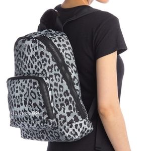 Marc Jacobs All Star Leopard Printed Backpack